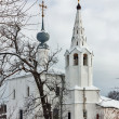 Постер, плакат: Saints Cosmas and Damian church Suzdal Russia