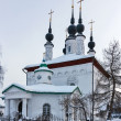 Stock Photo: Saints Constantine Helenchurch,Suzdal, Russia