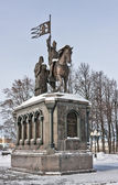 Monument voor prins vladimir en de monnik fjodor, vladimir, russi — Stockfoto