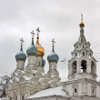 Church of St. Nicholas of Pyzhi, Moscow, Rusddia — Stock Photo