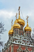 Church of the Resurrection in Kadashi, Moscow, Russia — Stok fotoğraf