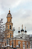 Church of St Nicholas in Tolmachy,Moscow, Russia — Stock Photo