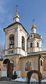 Church of St Nicholas the Wonderworker in Zvonary, Moscow, Russi — Stock Photo