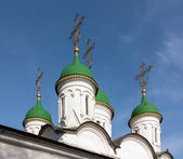 Church of the Holy Trinity in Listy, Moscow, Russia — Stock Photo