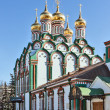 Church of Saint Nicholas in Khamovniki, Moscow, Russia — Stock Photo