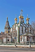 Khamovniki,莫斯科,俄罗斯圣尼古拉教堂 — 图库照片