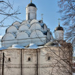 Church of the Protection of the Theotokos in Rubtsovo, Moscow, R — Foto de Stock