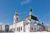 Church of Saint Nicholas in Pokrovskoye, Moscow, Russia — Stock Photo