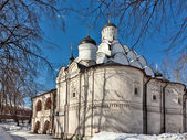 Church of the Protection of the Theotokos in Rubtsovo, Moscow, R — Stock Photo