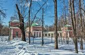 Vlakhernskoye-Kuzminki estate, Moscow, Russia — Stock Photo
