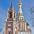 Church of the Transfiguration in Ostrov village,Moscow region, R — Stock Photo