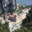 Abbey Santa Maria de Montserrat, Catalonia, Spain. — Stock Photo