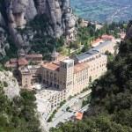 Abbey Santa Maria de Montserrat, Catalonia, Spain. — Stock Photo