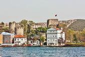 Anadoluhisarı foetess, Turkey — Stock Photo
