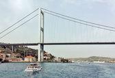 Bosphorus Bridge, Istanbul — Stock Photo