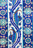 Turkish ceramic Tiles, Istanbul — Stock Photo