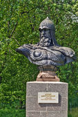 Bust to Yuri Dolgorukiy — Stock Photo
