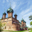 Temple ensemble in Korovniki, Yaroslavl — Stock Photo