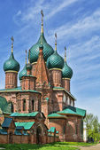 Temple ensemble in Korovniki, Yaroslavl — Stock Photo