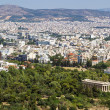 View of Athens from the Acropolis — Stock Photo