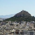 Mount Lycabettus, Athens — Stock Photo