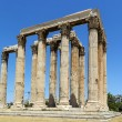 Stock Photo: Temple of OlympiZeus, Athens