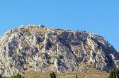 Utsikt över fästningen acrocorinth, Grekland — Stockfoto