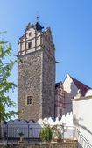 Castillo en bernburg, alemania — Foto de Stock