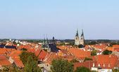 Panorama of Quedlinburg, Germany — Stock Photo