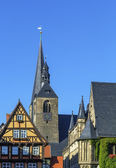 Marktkirche in Quedlinburg, Germany — Stock Photo