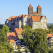 The castle and church, Quedlinburg, Germany — Stock Photo