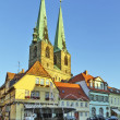 Saint Nicholas church in Quedlinburg, Germany — Stock Photo