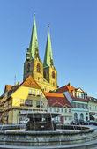 Saint Nicholas church in Quedlinburg, Germany — Stock Photo