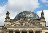 Reichstag building, Berlin — Stock Photo