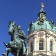 Statue Friedrich Wilhelm I, Berlin — Stock Photo