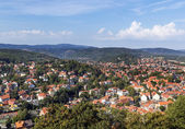 View from Wernigerode Castle, Germany — Stock Photo