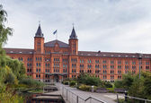 New town hall, celle, alemania — Foto de Stock