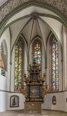 St Nicholas church in Lemgo, Germany — Stock Photo