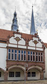 Historical houses in Lemgo, Germany — Stock Photo