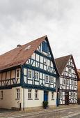 Street in Wolfhagen, Germany — Stock Photo