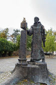 Statue of St. Boniface, Fritzlar, Germany — Stock Photo