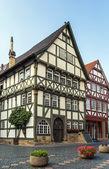 Street in Fritzlar, Germany — Stock Photo