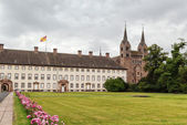 Imperial abdij van corvey, Duitsland — Stockfoto