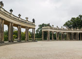 Colonnades in Sanssouci, Potsdam,Germany — Stockfoto