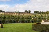 Vista del sanssouci palacio, potsdam, alemania — Foto de Stock