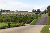 View of the Sanssouci Palace, Potsdam, Germany — Stok fotoğraf