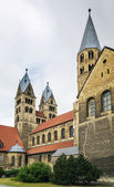 The Church of Our Lady in Halberstadt, Germany — Stock Photo