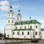 Holy Spirit Cathedral, Minsk, Belarus — Stock Photo