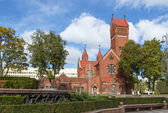 Church of Saints Simon and Helena, Minsk, Belarus — Stock Photo