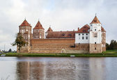 Mir Castle Complex, Belarus — Stock Photo